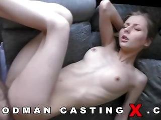 Anaal, Chick, Blonde, Casting, Ejaculatie, Porno Ster, Jong