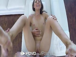 Povd   Pretty Jogger Shylar Ryder Gets An After Workout Treat