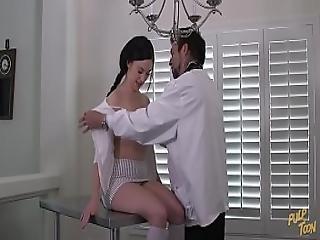 Natalie S Checkup - The Pervert Doctor