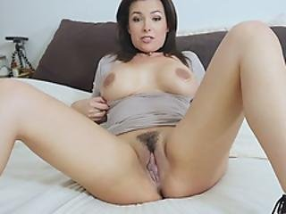 Classy Milf Stepmother Asks Stepson To Eat Her Pussy
