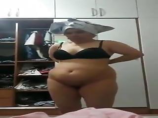 Turkish Granny Hidden Cam