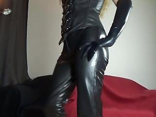 Mistress - Leather Corset And Pants - Domina Lola