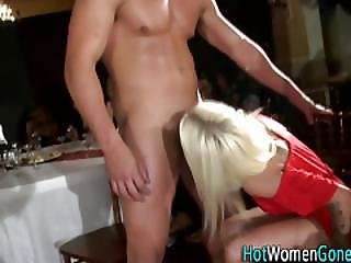 Party Slut Rides Stripper