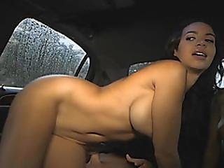 Sophia And Dylan Enjoy Fucking In Limo Threesome