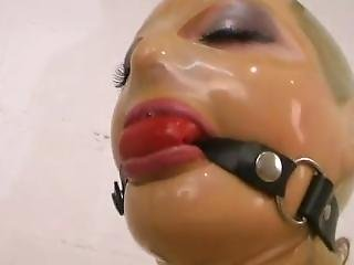 Bound, In Latex, Ball-gagged, On Sybian