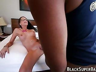 Slut Rammed By Black Dick