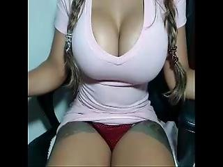 blondynka, brazylijka, seks, solo, kamerka