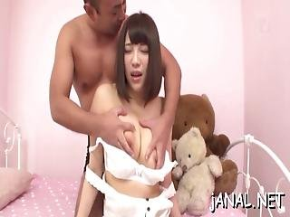 Asian Screams During Wild Anal