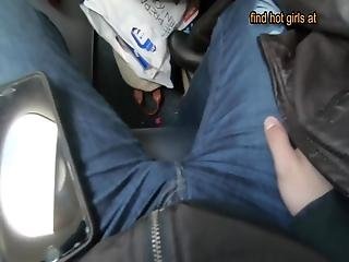 Real Blowjob On The Airplane Lexi Aaane