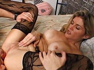 Candy Hilll Sucks Blond Stud S Big Cock