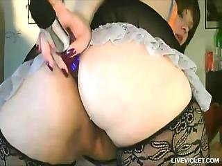 Sweet Young Bbw Loves Her Big Sex-toys