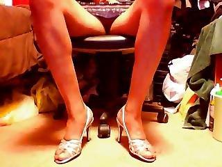 High Heels Upskirt Posing 1