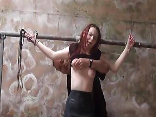 Barn Slaves Alfresco Domination And Harsh Whipping