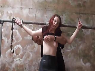Barn Slaves Alfresco Domination And Harsh Whipping