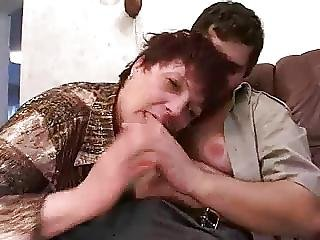 Russian Mommy Seduces Boy Cleaner Aquariums