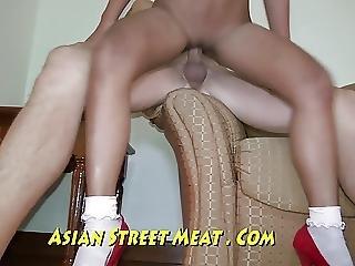 Pelvis Thrusting Beige Asian Fucker