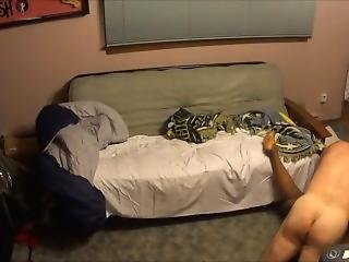 Hot Interracial Couple - Late Night Sex...at It Again! Part 2
