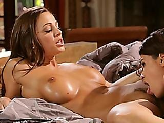 Extraordinary Lesbian Threesome With Three Hot Babes