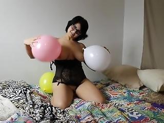 Elyce Ferrara Pussy/balloon Play