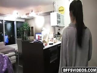 Girl Got Annoyed And Bother Because They Are Too Noisy