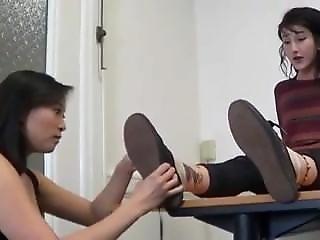 Asian  Sniff Feet