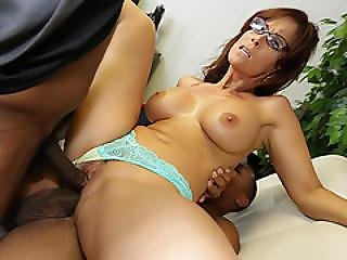 Milf Syren De Mer Fucked  In Her Pussy And Ass