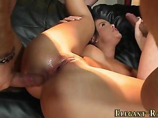 Glamour Whore Dped 3some