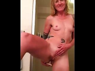 Good Girl Ass Fucking Orgasm Before Shower Time