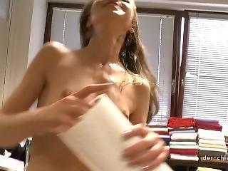 Kurzinterview Natalia Pearl - Spermagesicht