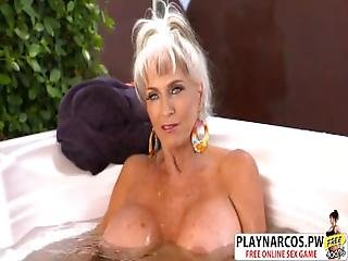 Naughty Mom Sally D Angello Ride Cock Hot Young Bud