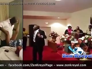 Pastor Caught Fucking A Church Member