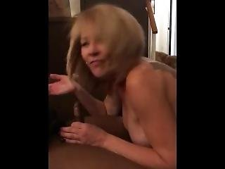 Hotwife Shelly Drinking Bbc Cumm