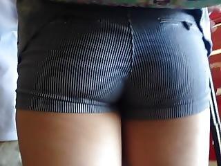 1 Teen 2 Shorts Candid Booty