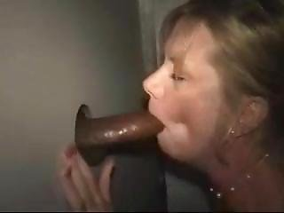 Husband Shares Wife At Glory Hole With Bbc