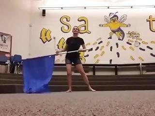 Band Teacher Dancing In Tight Ass Shorts