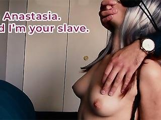 Russian Slave Anastasia: Bondaged, Blindfolded, And Fucked Hard