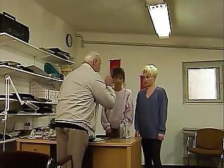 Luder, Deutsch, Alt, älterer Mann, Klassisch, Spanner, Jung
