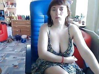 Big Tit Milf Lifts Skirt