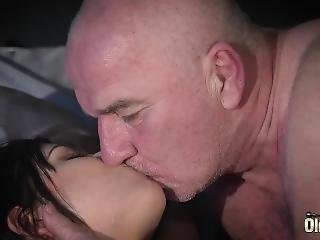 Old And Young Porn - Teen Puts Big Cock In Mouth And Sucks It Cum Dry