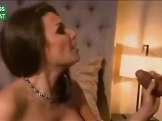French Wife With Big Fake Tits Getting Gangbanged In Ass