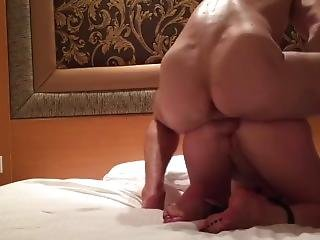 Anal Blonde Fucked In Doggystyle Hands And Feet Bound Together Ass Fuck