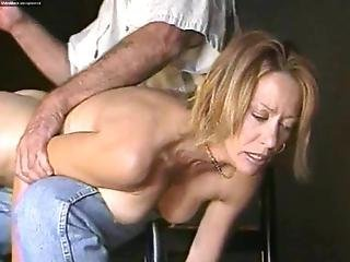 Spanking Face Of Pain