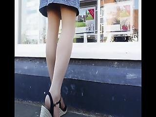 Upskirt At The Shops 14