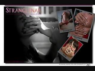 Strangle Nail Neck Festish Lesbians Domination 2