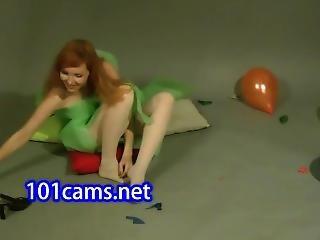 Lisa Popping Balloons  Teens From Www.camz.biz