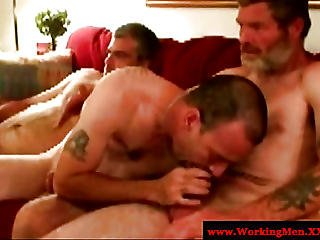 Dirty Southern Rednecks In Cock Feast