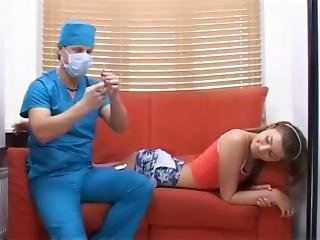Teens Submits To Horny Doctor For Treatment
