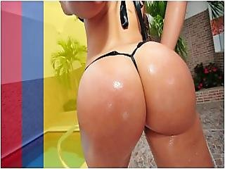 Bangbros - Brick Danger Taps Natalie S Insane Colombian Booty