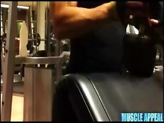 Female Muscle Growth Bicep Workout Morphed