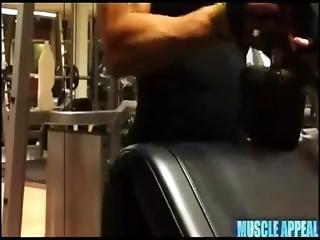hardcore, alene, træning, arbejdsplads